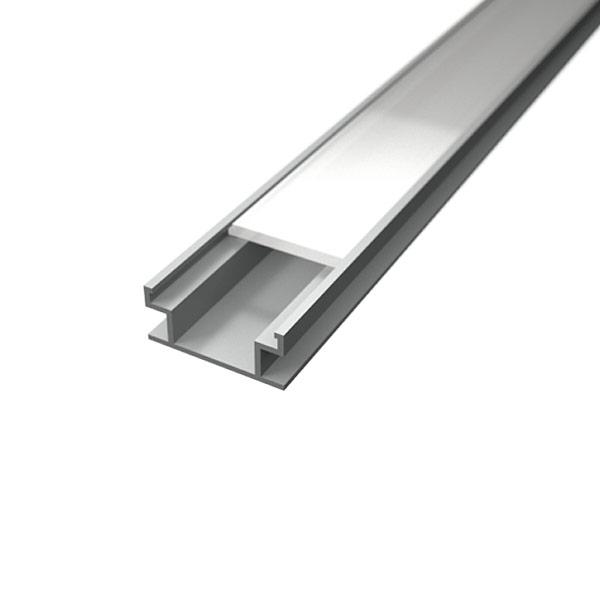 Aluminijski profil PODNI 8,2mm x 19,6mm – 2m