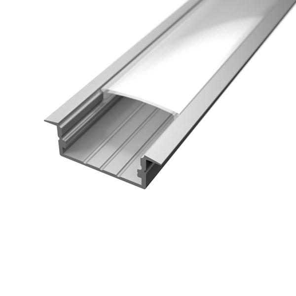 Aluminijski profil UGRADBENI 10mm x 23,5mm