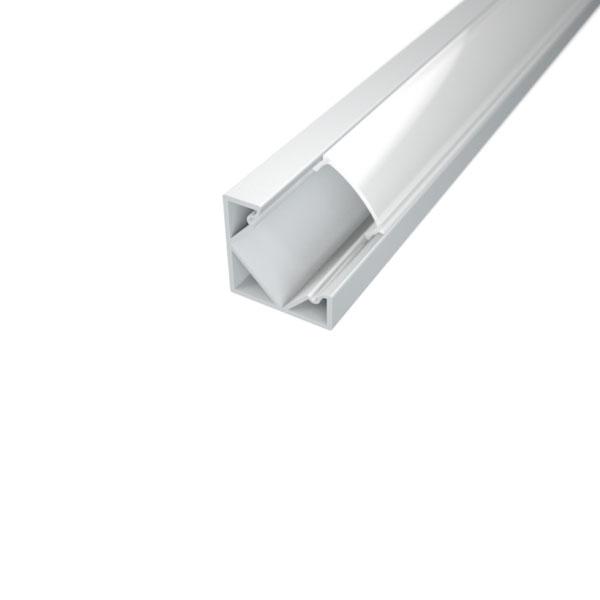 Aluminijski profil za LED traku kutni 1m 18,5mm