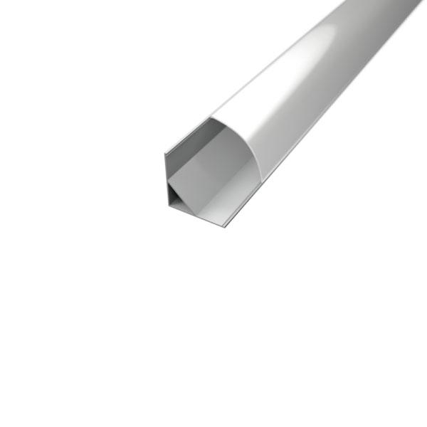 Aluminijski profil za LED traku KUTNI 2m...
