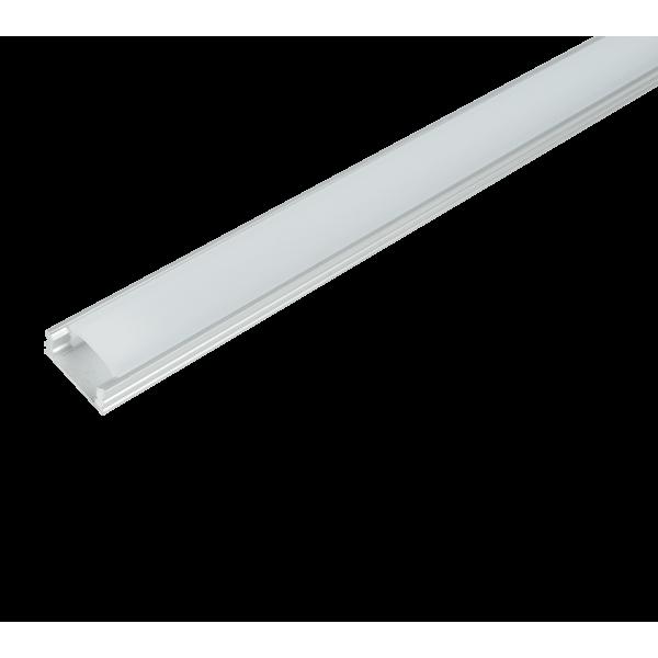 Aluminijski profil za LED traku nadgradni 2m