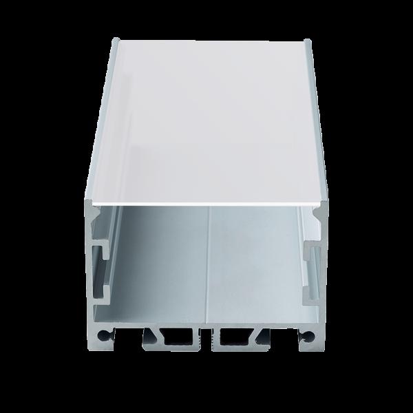 Aluminijski profil za LED traku ugradbeni 2m Bazni