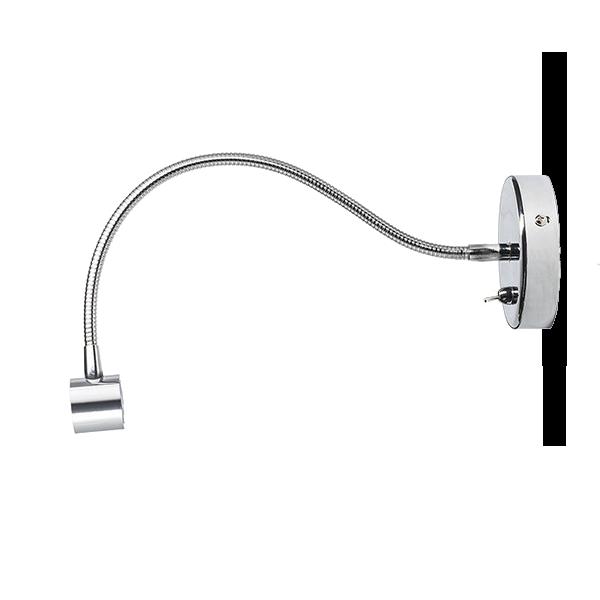 BOB LED  zidna svjetiljka 230V 3W 3000K LED unutarnja rasvjeta R10538 Led žarulje - LED rasvjeta