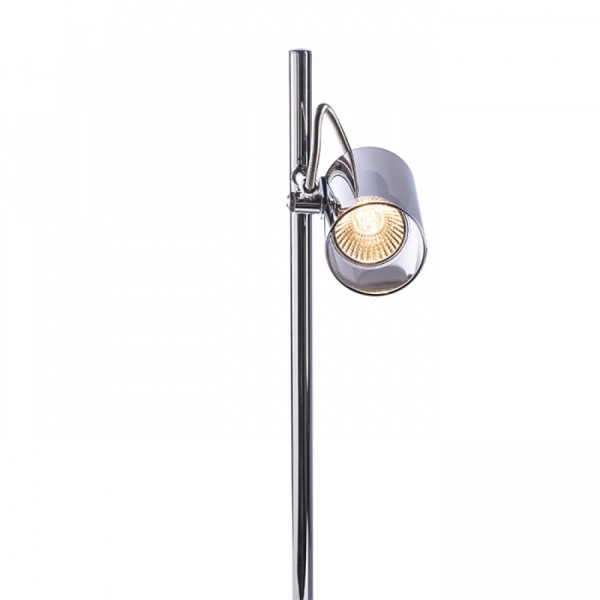 BUGSY stolna LED svjetiljka kromirano staklo 230V GU10 10W 2700K
