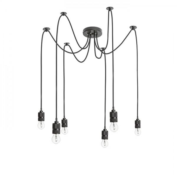 CINDY visilica 230V LED 6x42W LED unutarnja rasvjeta R12054 Led žarulje - LED rasvjeta