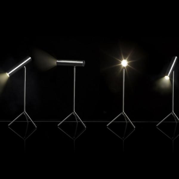 COZY stolna LED svjetiljka MAT Nikal 230...