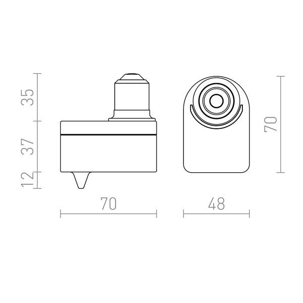 E27 adapter sa senzorom pokreta