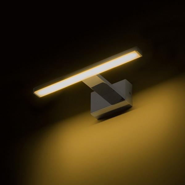 Kupaonska LED svjetiljka Palea 300 krom 230V LED 7W IP44 3000K