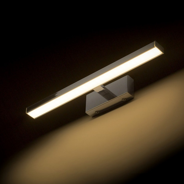 KUPAONSKA LED SVJETILJKA ZA OGLEDALO 8W 2700K IP44 L400mm