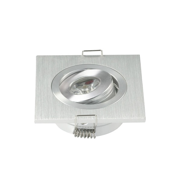 LED MODUL 1W UGRADBENI KVADRATNI 2800K ROTIRAJUĆI OKVIR LED unutarnja rasvjeta DL2108 Led žarulje - LED rasvjeta