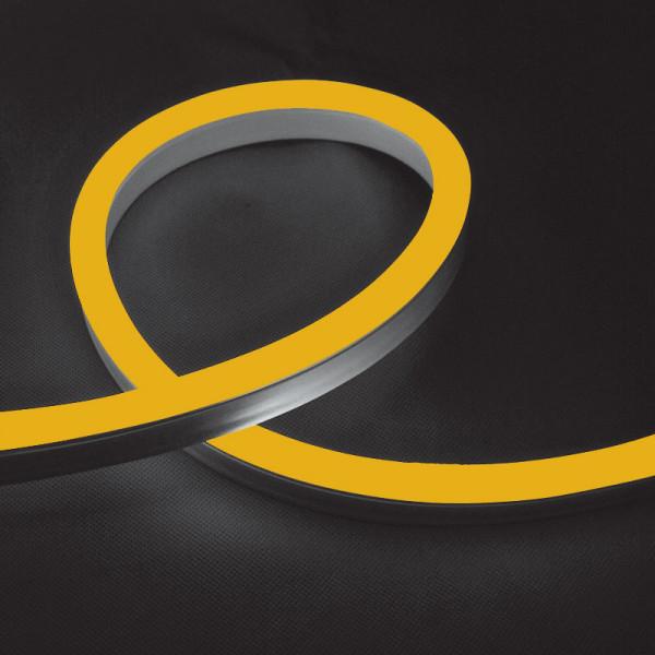 LED NEON FLEX 8.5W/M 220V IP65 Amber - Zlatno žuta