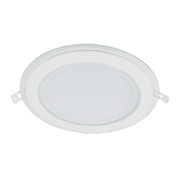 LED PANEL 18W STAKLENI OKRUGLI 230V IP40 1440lm