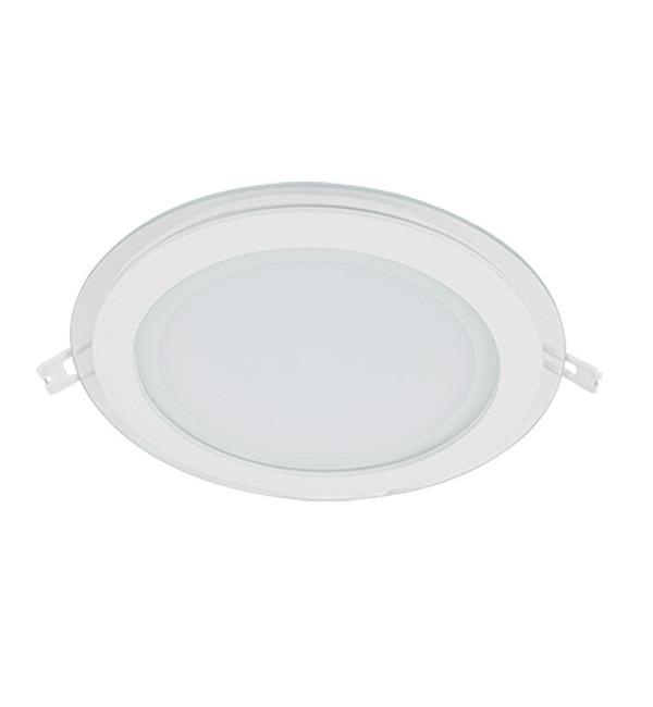 LED PANEL 18W STAKLENI OKRUGLI 230V IP40 1440lm
