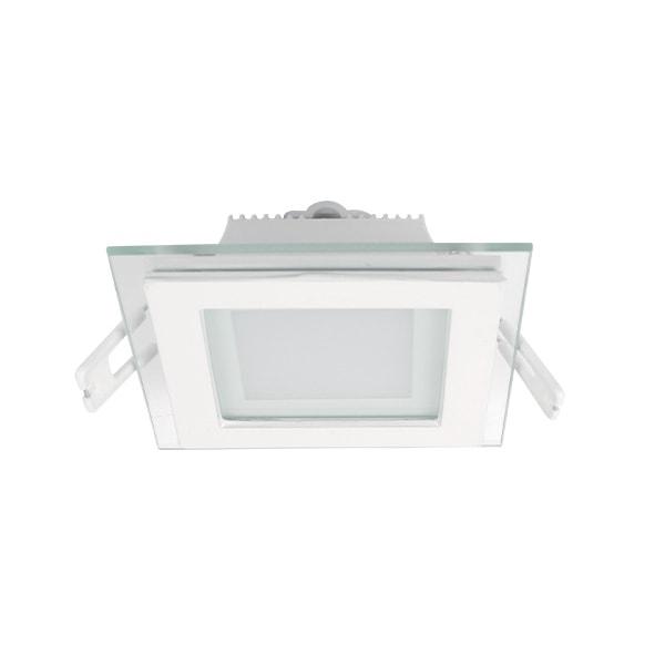 LED PANEL 6W STAKLENI KVADRATNI 230V LED unutarnja rasvjeta 99LED642 Led žarulje - LED rasvjeta