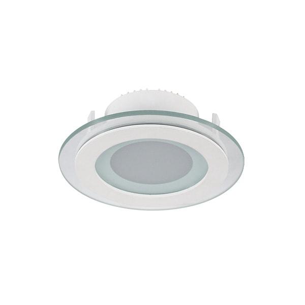 LED PANEL 6W STAKLENI OKRUGLI 230V LED unutarnja rasvjeta 99LED638 Led žarulje - LED rasvjeta