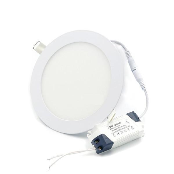 LED PANEL UGRADBENI OKRUGLI 24W D300/13mm IP40