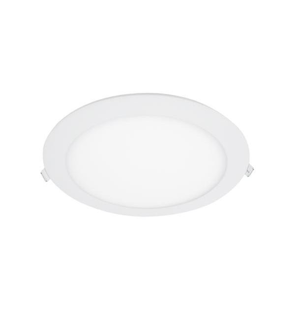 LED PANEL UGRADBENI OKRUGLI 24W 4000K D300/21mm