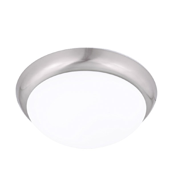 LED PLAFONJERA 1XE27 Ф300 MAT KROM 7430