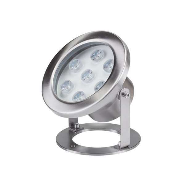 LED podvodna svjetiljka 7x1W IP68 4000K 24V