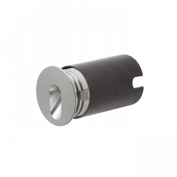 LED RASVJETA ZIDNA MEMPHIS R srebrno siva 230V LED 3W 60° 3000K