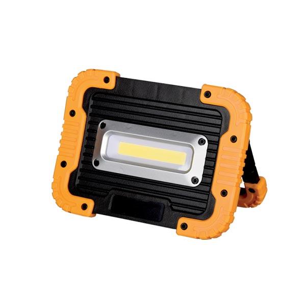LED REFLEKTOR 10W PRENOSIVI IP44 4000K - USB KABEL ZA PUNJENJE