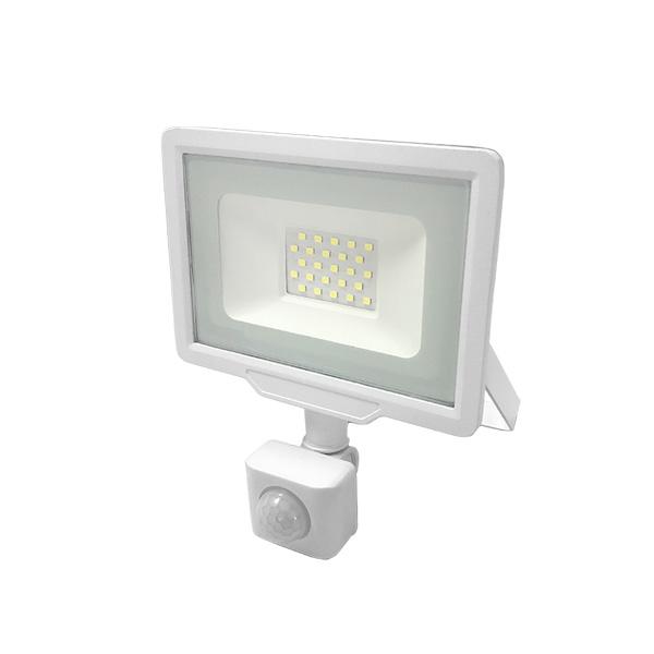 LED REFLEKTOR 20W City Line IP65 PIR SENZOR POKRETA