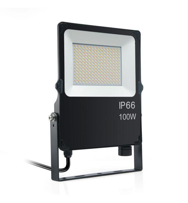 LED REFLEKTOR SMD 100W AC200-277V IP66 IK08 100LM/W PF>0.9 5000 LM CCT- ODABIR BOJE SVJETLOSTI