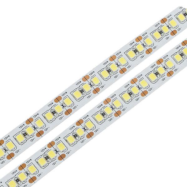 LED TRAKA High power 2110 560LEDS/M 24V 12MM 32W/M 2500LM/M CRI90 IP20 3000K / 5 metara
