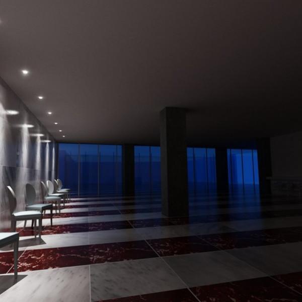 LED Ugradbeni PANEL OSONA M okrugli akril 230V/350mA LED 1x1W 3000K