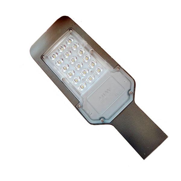 LED ULIČNA RASVJETA 20W IP65 6000K 2000LM LED ulična rasvjeta SL9171 Led žarulje - LED rasvjeta
