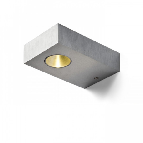 LED USMJERENA SVJETILJKA 3W 230V 3000K brušeni aluminij