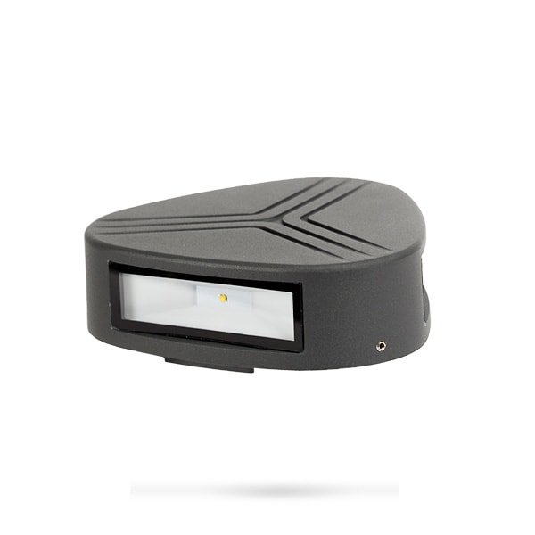 LED VRTNA RASVJETA ZIDNA 3X3W 230V 4000K LED vrtna rasvjeta 9617LEDW Led žarulje - LED rasvjeta