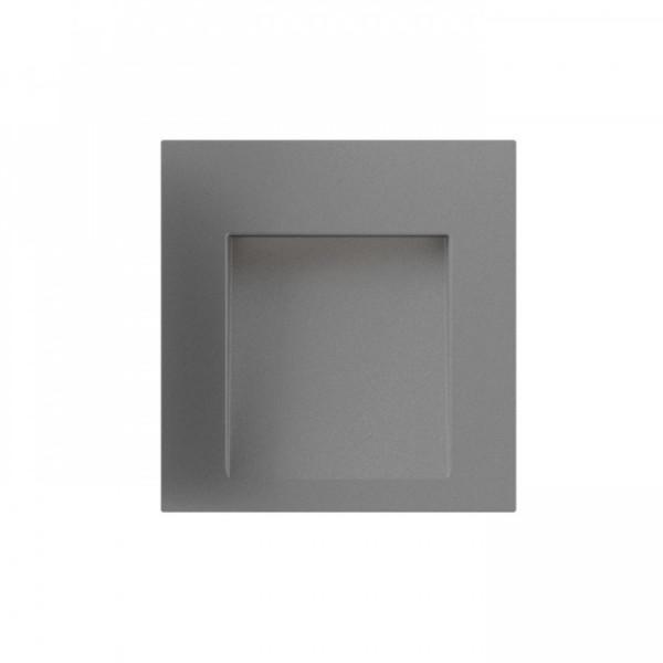 LED VRTNA RASVJETA ZIDNA TESS-SQ 3W 230V 80 lm Ra 80 3000K IP54