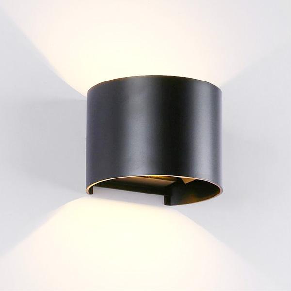LED VRTNA/ZIDNA RASVJETA 2X5W 4000K IP54 CRNA