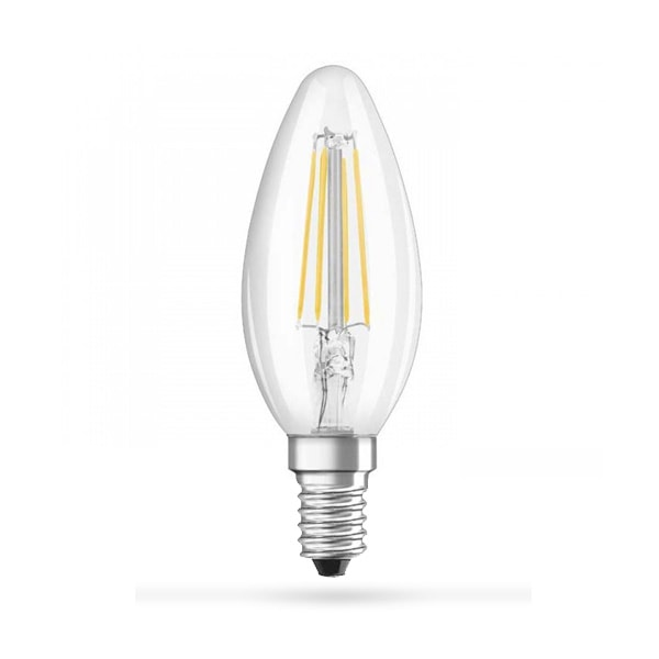 LED žarulja E14 4W Filament C35 Dimmer 2700K