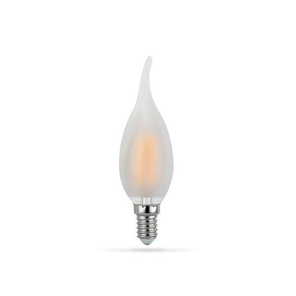 LED žarulja E14 4W Filament Flame C35T 2700K