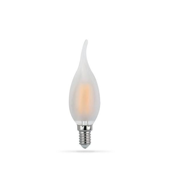 LED žarulja E14 4W Filament Flame C35T 2700K