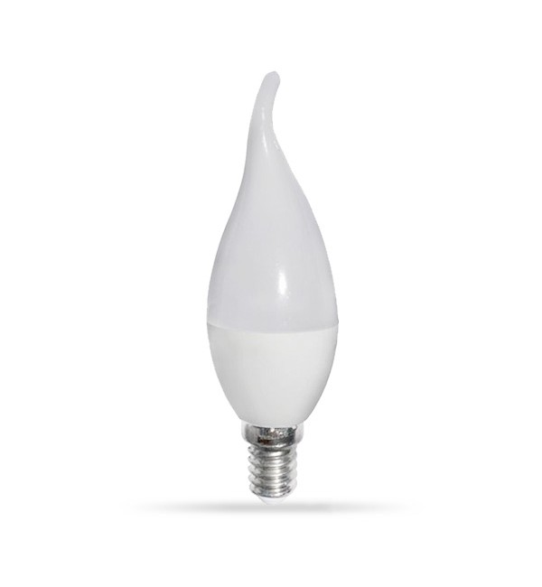 LED žarulja E14 6W 220V SVIJEĆA Plamen