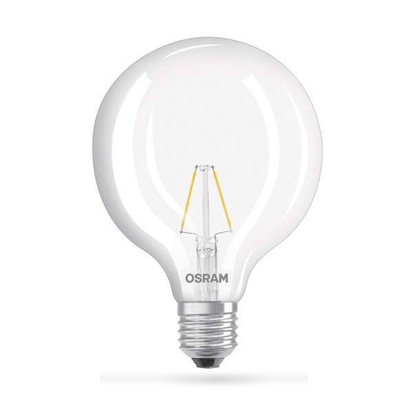 LED ŽARULJA E27 2W OSRAM GLOBE EQ25 CLEAR 27OOK LED ŽARULJE G12244 Led žarulje - LED rasvjeta