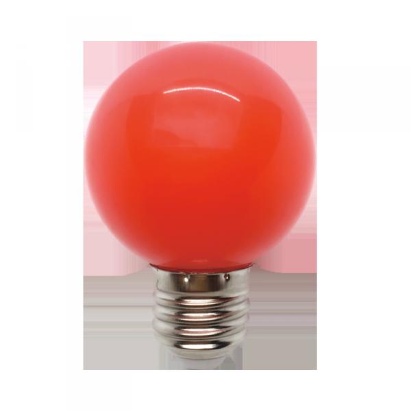 LED ŽARULJA E27 3W 220V G45 CRVENA