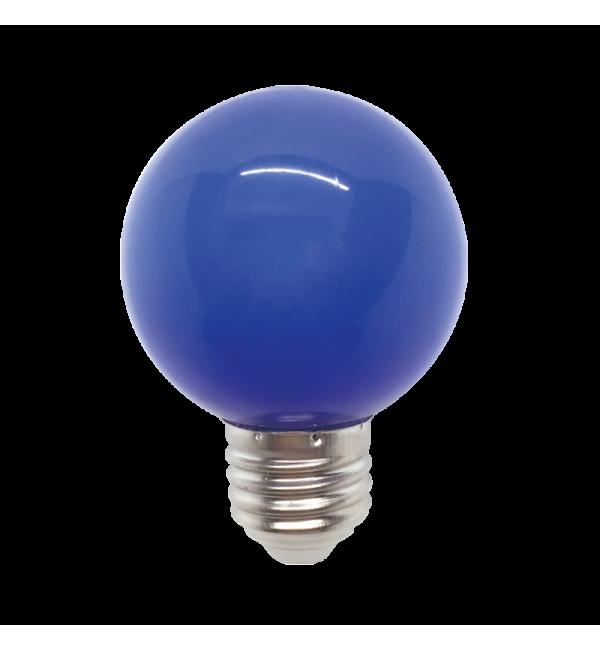 LED ŽARULJA E27 3W 220V G45 PLAVA