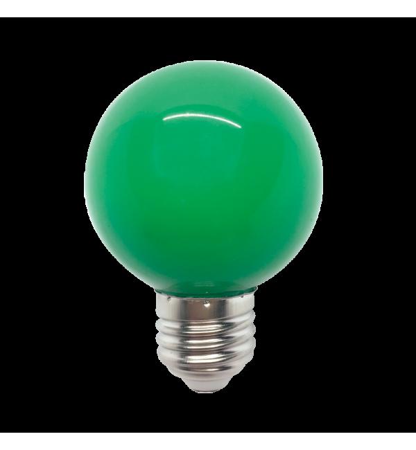 LED ŽARULJA E27 3W 220V G45 ZELENA