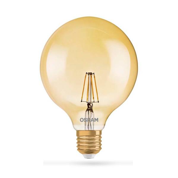 LED ŽARULJA E27 6.5W OSRAM GLOBE EQ51 VINTAGE 24OOK DIMMER LED ŽARULJE G13023 Led žarulje - LED rasvjeta