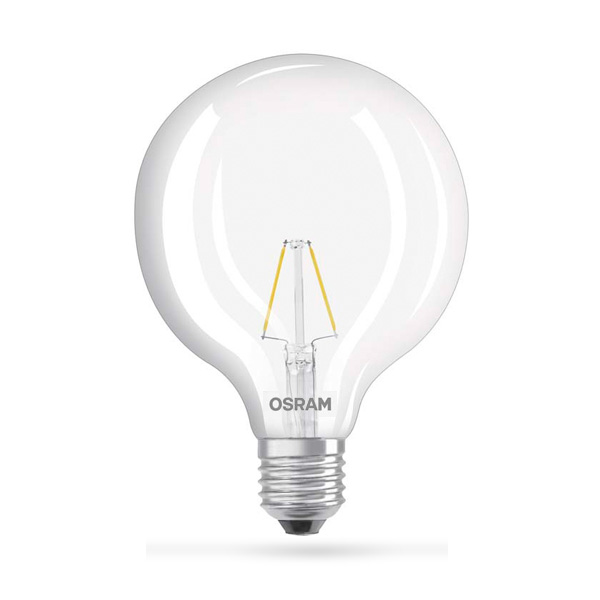 LED ŽARULJA E27 6W OSRAM GLOBE EQ60 CLEAR 27OOK LED ŽARULJE G12246 Led žarulje - LED rasvjeta