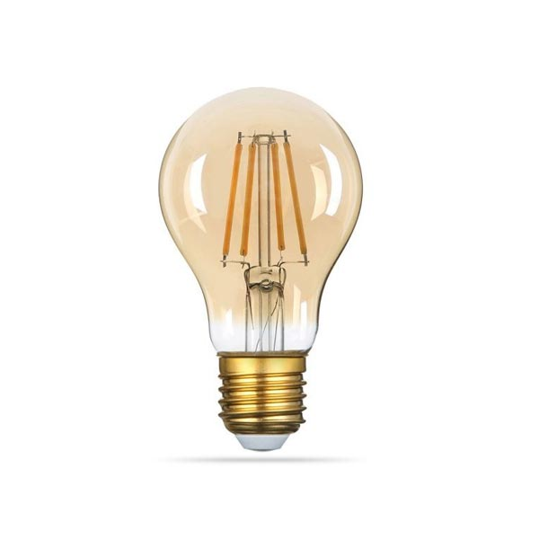 LED ŽARULJA E27 A60 8W FILAMENT AC220-240V 2800-3200K 2500 K 700 lm