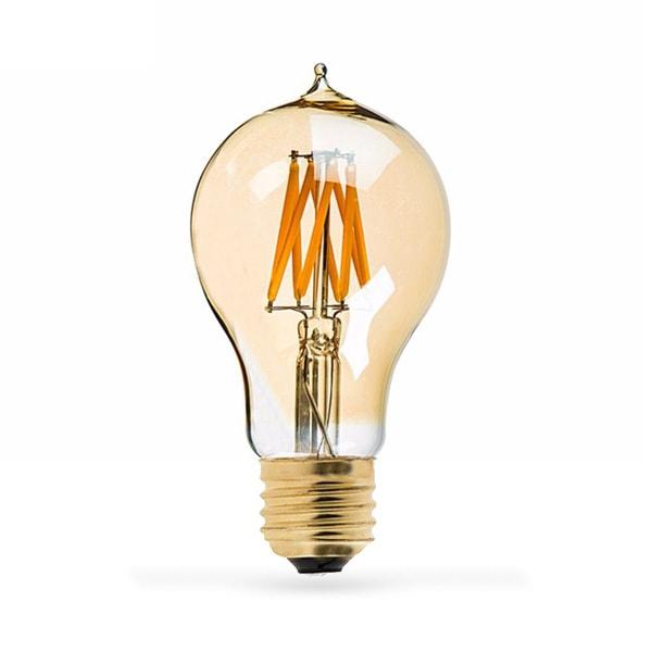 LED ŽARULJA E27 A60 8W FILAMENT AC220-240V 2800-3200K ZLATNA
