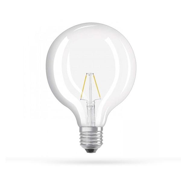 LED ŽARULJA E27 G125 4W FILAMENT AC175-265V 2800K