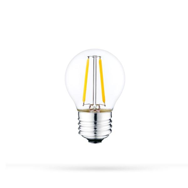 LED ŽARULJA E27 G45 4W FILAMENT 320lm AC175-265V DIMABILNA