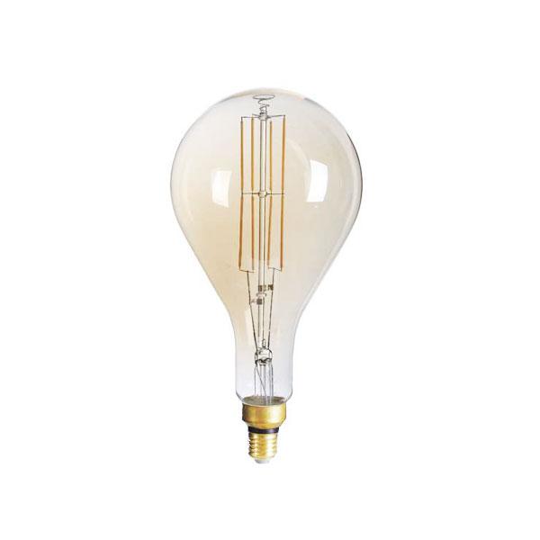 LED ŽARULJA E27 PS160 8W zlatno staklo Dimabilna 1800K