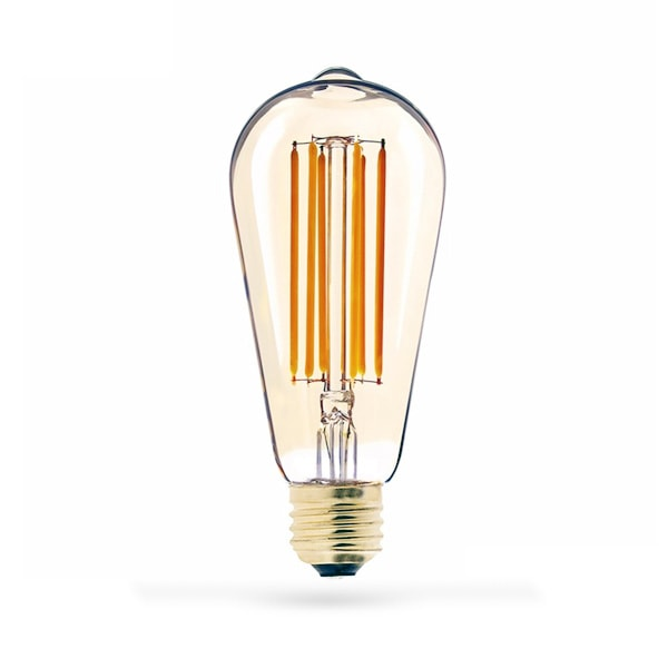 LED ŽARULJA E27 ST64 8W FILAMENT ZLATNA 2800-3200K LED ŽARULJE 99LED769 Led žarulje - LED rasvjeta